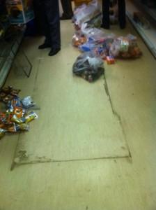 Deep Cleaning Floor Before
